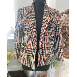 Vintage Irish tweed blazer for women